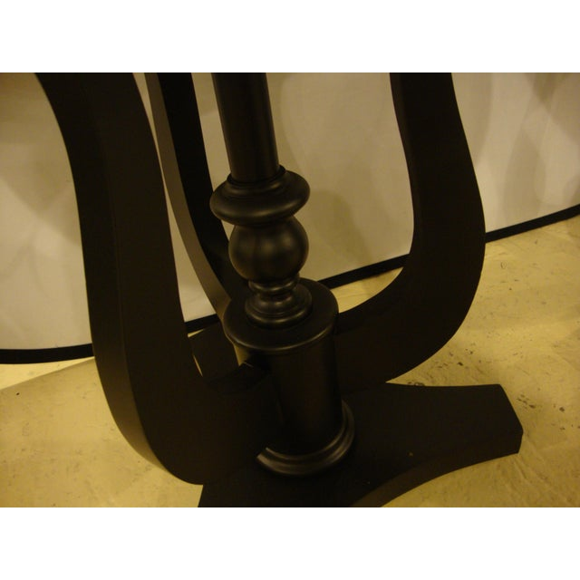 Art Deco Ebony Based End Tables - A Pair - Image 9 of 9