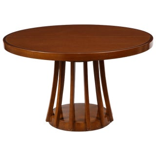 Mahogany Center and Dining Table by Angelo Mangiarotti, 1972 For Sale