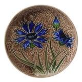 Image of 1890 Villeroy Boch Majolica Cornflower Plate For Sale