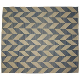 20th Century Afghan Kilim Area Rug - 8′6″ × 9′10″ Preview