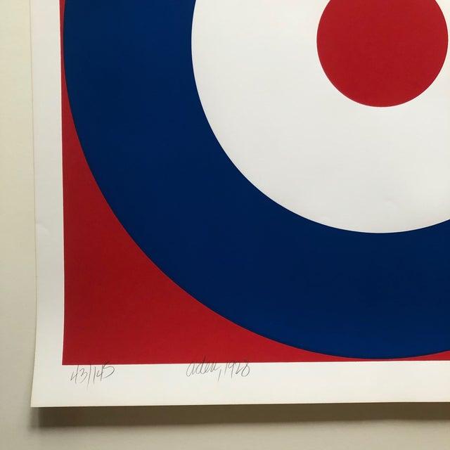 Pop Art 1975 Pop Art Chuck Smith Aden Navy Insignia Silkscreen For Sale - Image 3 of 6