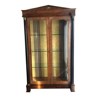 Italian Biedermeier China Cabinet For Sale