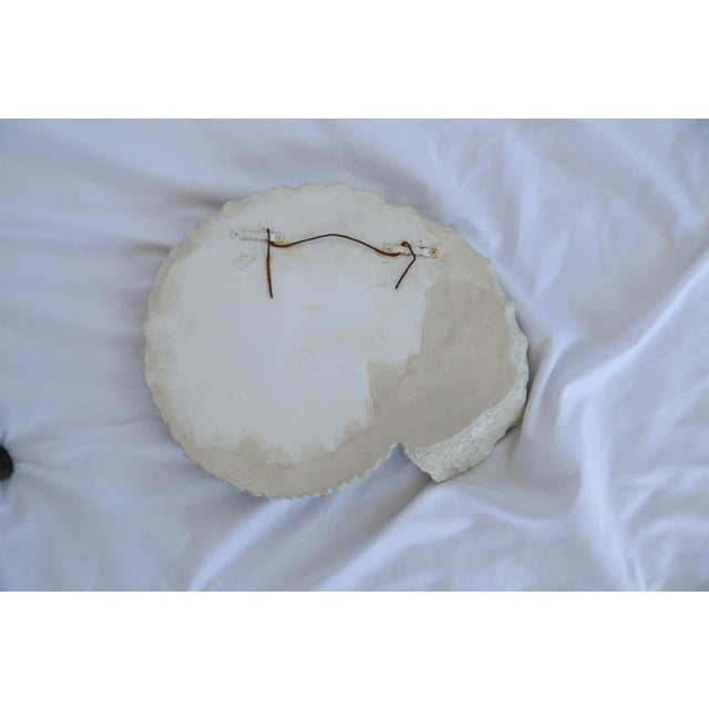 Nautical Plaster Cast Shell Decor For Sale - Image 3 of 3