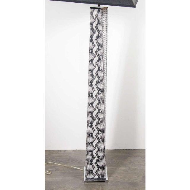 Superior J. M. F. Column Floor Lamp by Karl Springer | DECASO