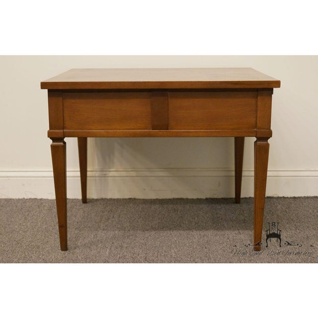 20th Century French Regency American of Martinsville End Table For Sale - Image 11 of 13