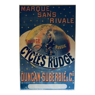 Vintage France Cycling Poster