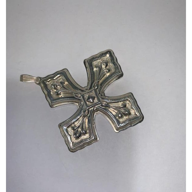 1981 Reed & Barton Sterling Christmas Cross Limited Edition For Sale In Dallas - Image 6 of 6