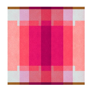 Abstract Fine Art Print, Color Space 37: Hot Pink, Watermelon & Lavender by Jessica Poundstone For Sale