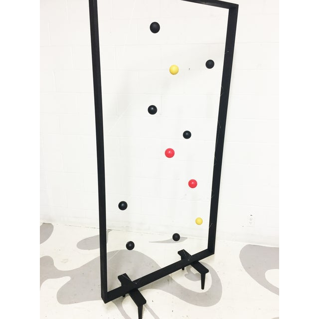 Mid-Century Modern Style Screen Room Divider - Image 6 of 7