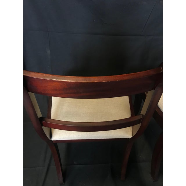 Early 19th Century Regency Dining Chairs- Set of 4 For Sale In Portland, ME - Image 6 of 13