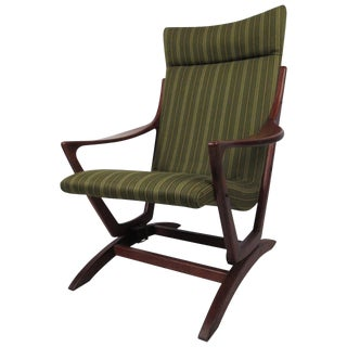 1970s Mid-Century Modern Rocking Chair For Sale