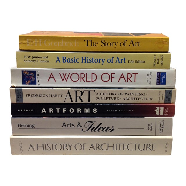 Stack of Art Textbooks - Set of 7 - Image 1 of 11