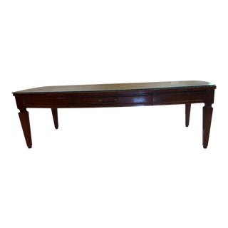 1950s Neoclassic Style Coffee Table For Sale