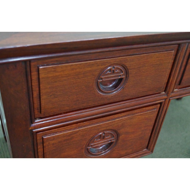 Quality Solid Rosewood Chinese Writing Desk For Sale - Image 7 of 10
