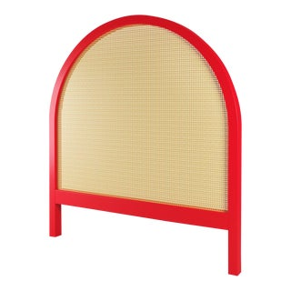 Eva Headboard - Twin - Bull's Eye Red For Sale