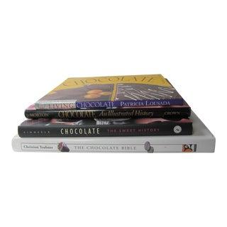 Chocolate Cookbooks- 4 Pieces For Sale