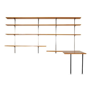 1950s Willy Guhl Aweso Shelving Unit For Sale
