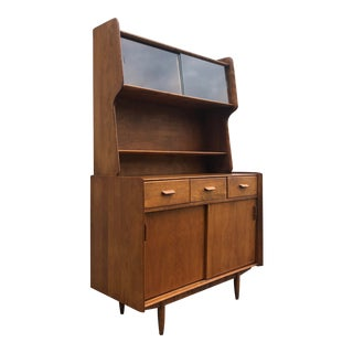 Conant Ball Wooden Hutch 1960s For Sale