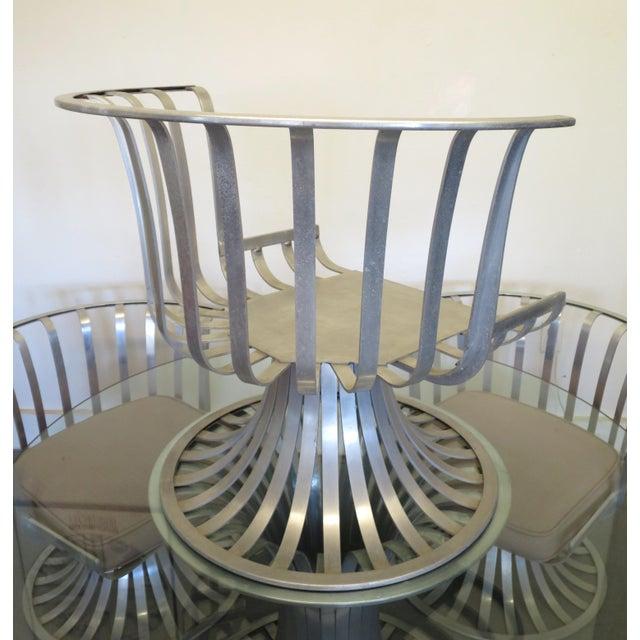 Mid-Century Modern Russell Woodard Aluminum Patio Furniture - A Set - Image 9 of 9