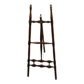 Vintage Carved Detail Folding Easel