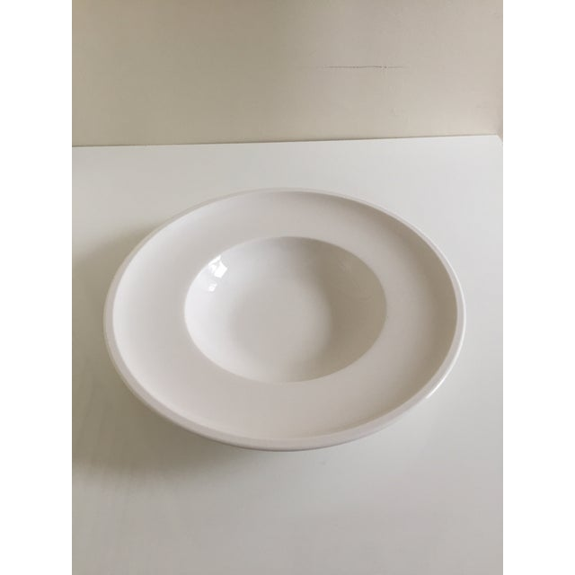 Villeroy & Boch Artesano White Premium Porcelain Plates - A Pair For Sale In Boston - Image 6 of 7