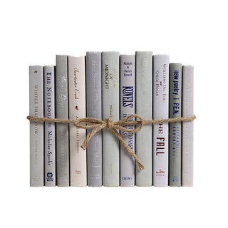 Modern Marble ColorPak : Decorative Books in Shades of Light Gray For Sale