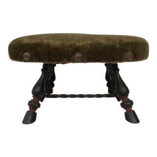 Victorian Cast Iron Footstool