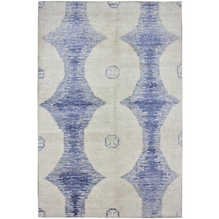 "Aara Rugs Inc. Hand Knotted Bamboo Rug - 12'0"" X 9'0"" For Sale"