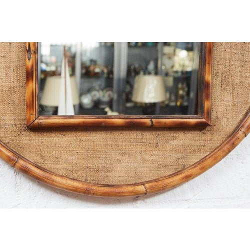 This Circle Bamboo Mirror is an original Jefferson West Custom Line design inspired by 19th century English style of...