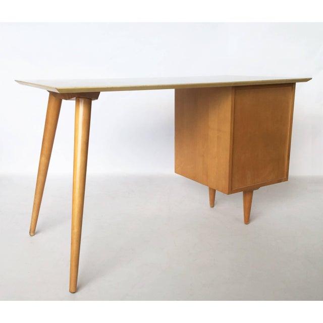 Mid-Century Modern Paul McCobb Planner Group Desk For Sale - Image 3 of 7