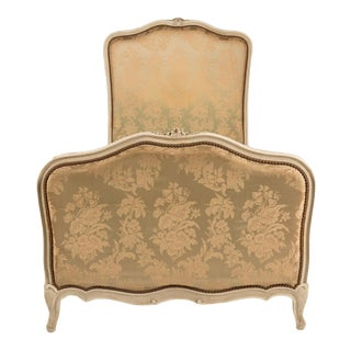 1940s French Louis XV Style Painted Twin Bedframe For Sale