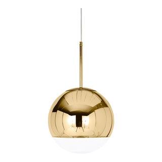 Tom Dixon Mirror Ball 25 Pendant Gold For Sale
