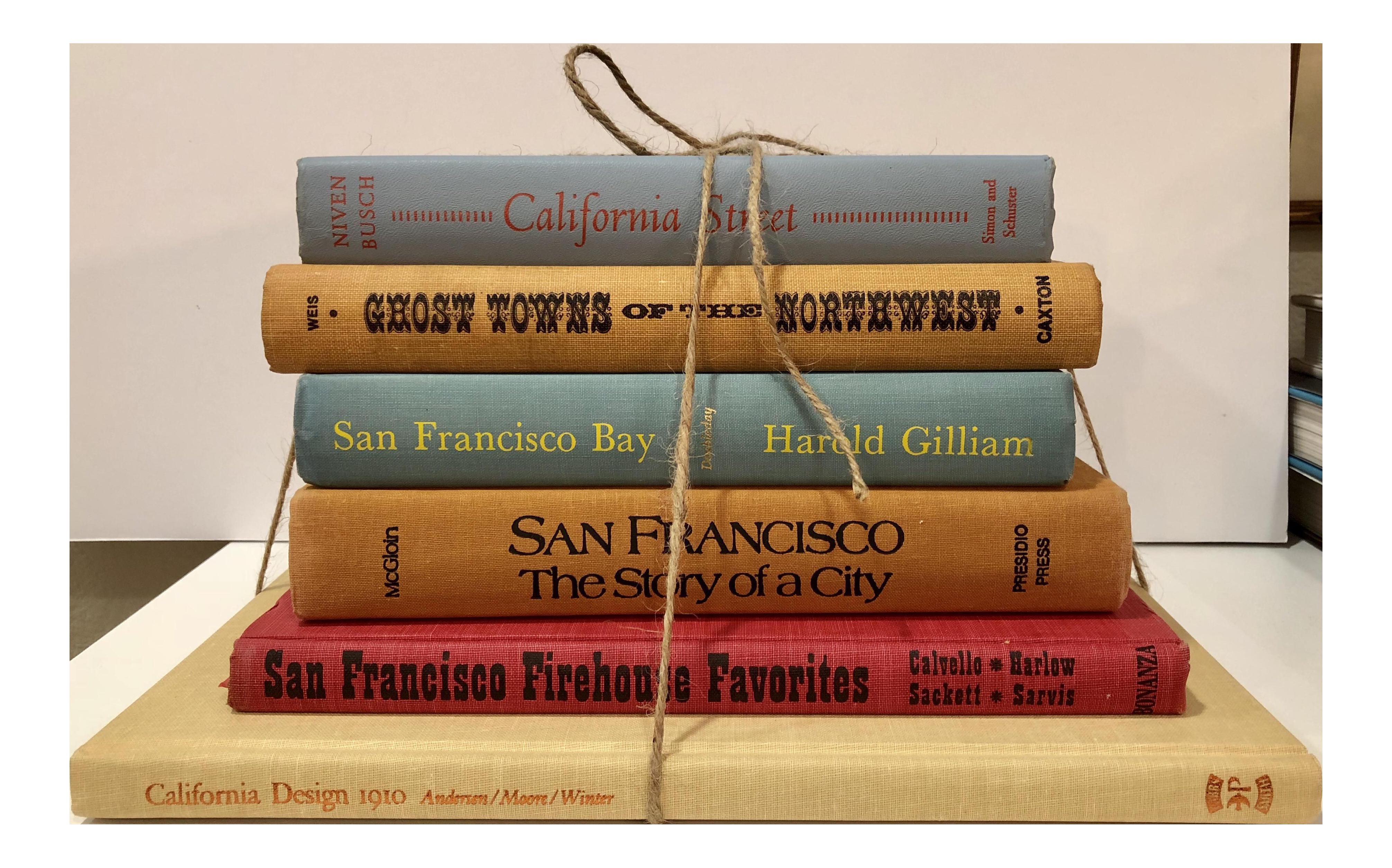 Wonderful Vintage San Francisco U0026 West Coast History Books   Set Of 6