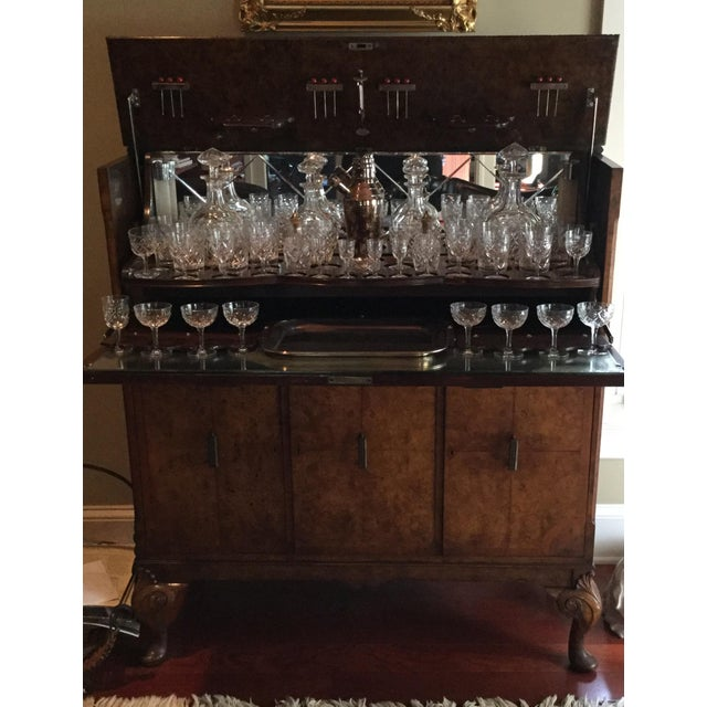 Lift Top Bar Cabinet & Crystal Collection - Set of 69 - Image 2 of 5
