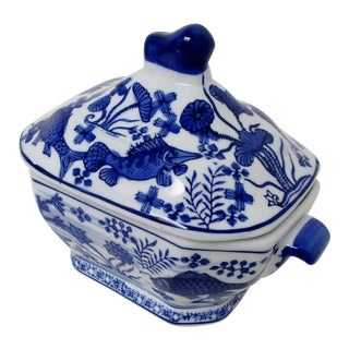 Small Porcelain Tureen For Sale