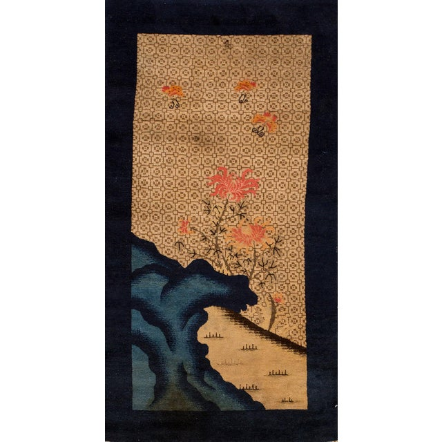 """Apadana - Antique Distressed Pictorial Chinese Peking Rug, 2'6"""" x 4'10"""" For Sale - Image 5 of 5"""