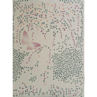 """1970s """"Construction"""" Abstract Numbered Lithograph by Agustin Fernandez For Sale"""