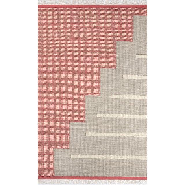 Textile Novogratz by Momeni Karl Jules in Pink Rug - 5'X8' For Sale - Image 7 of 7