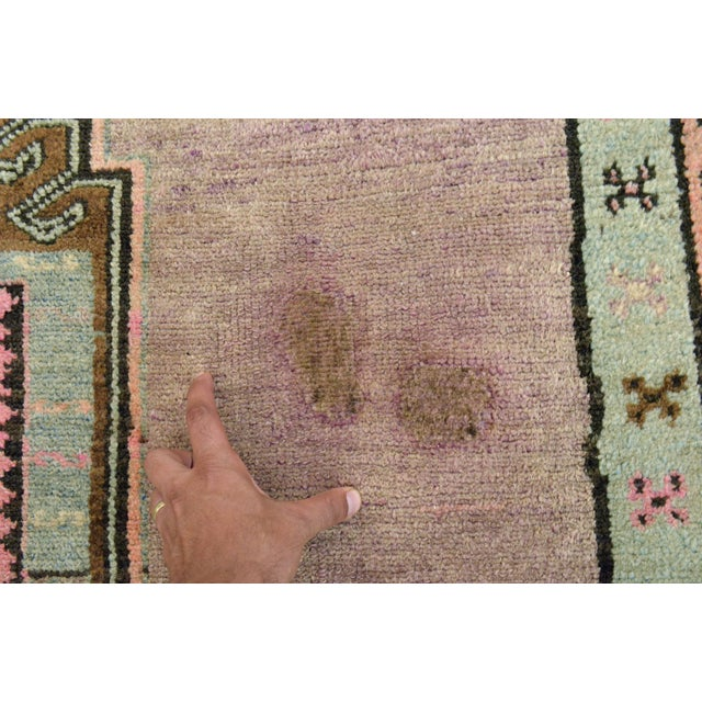 """Turkish Hand-Knotted Runner Rug - 5'7"""" x 13'9"""" - Image 11 of 11"""