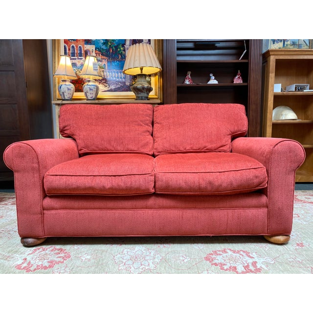 Lee Industries Apartment Sofa For Sale - Image 10 of 10