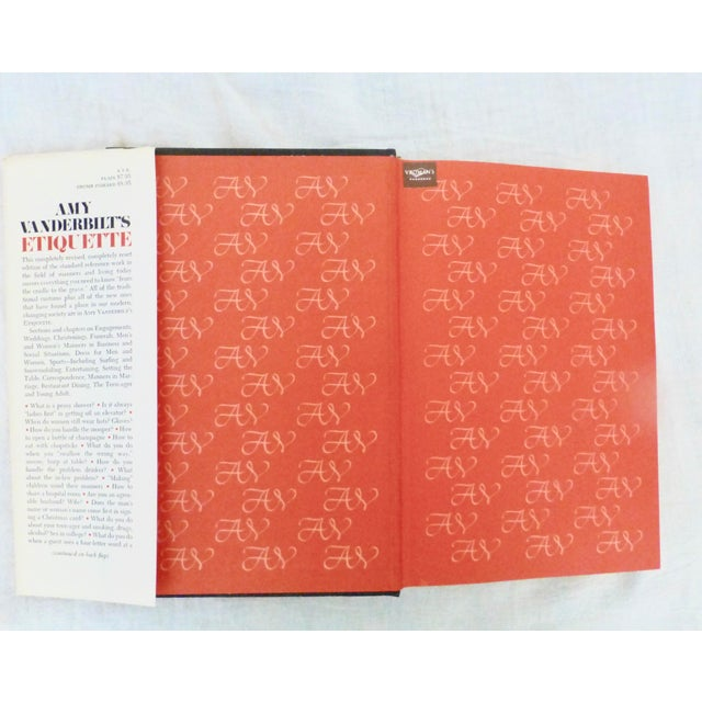 1978 Amy Vanderbilt's Etiquette Book, Illustrated W Warhol Drawings For Sale - Image 9 of 10