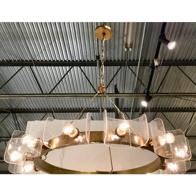 Metal Contemporary Arteriors Home Valerie Chandelier For Sale - Image 7 of 8