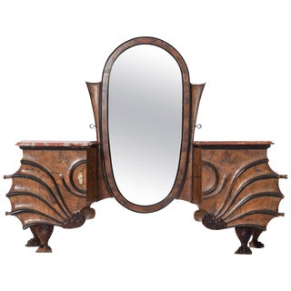 Art Nouveau Vanity Console For Sale