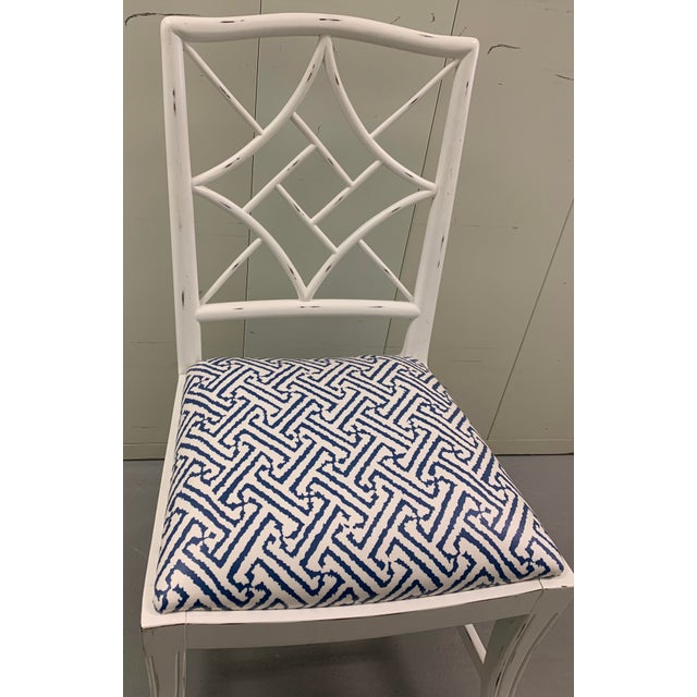 Chinoiserie Bungalow 5 Evelyne Side Chair For Sale - Image 3 of 11