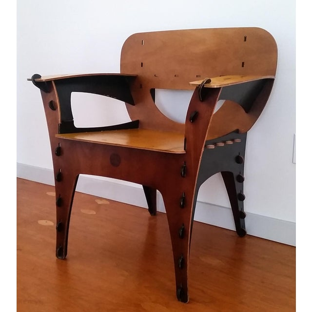Modern David Kawecki Puzzle Chair Vintage For Sale In Las Vegas - Image 6 of 6