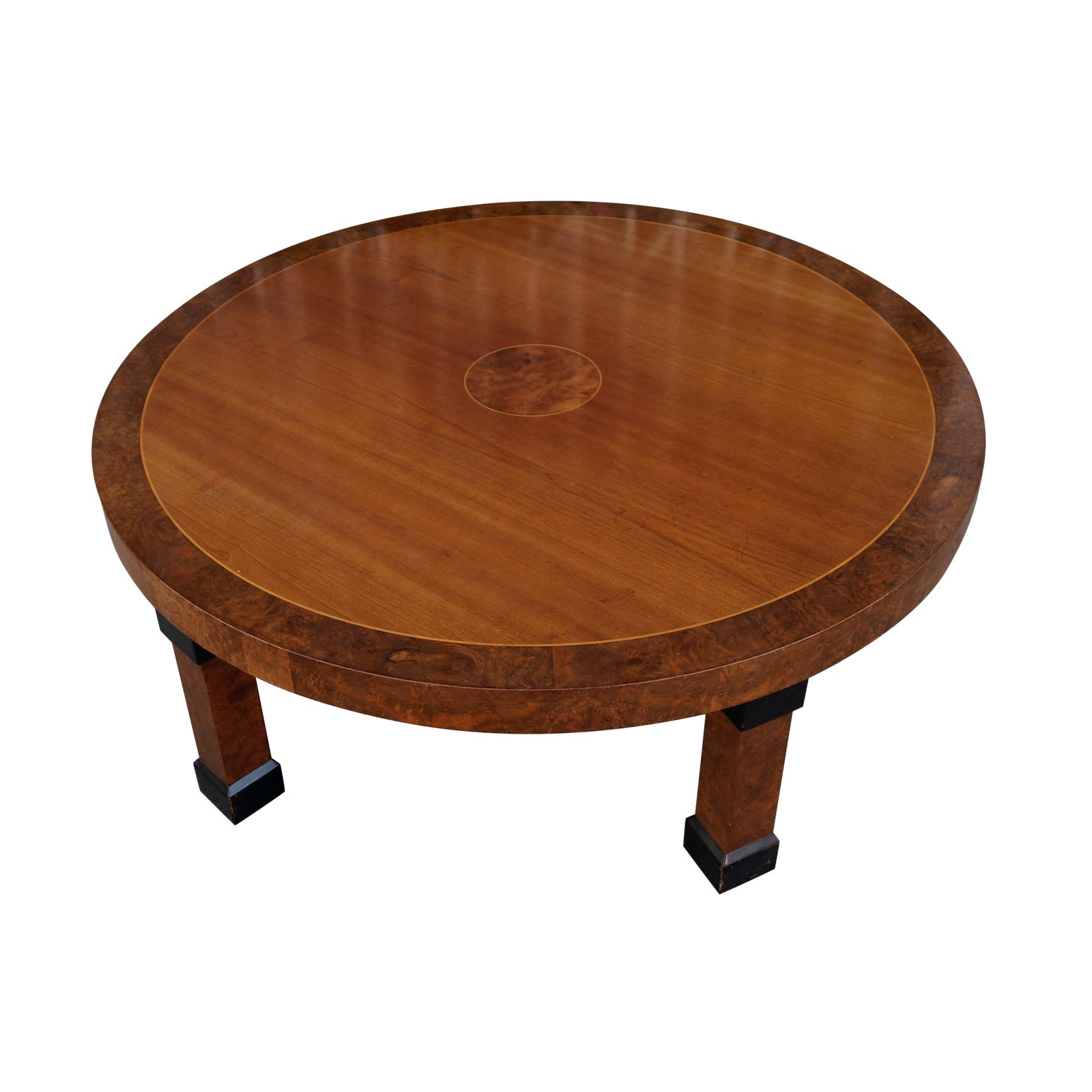 Vintage Style Round Coffee Table