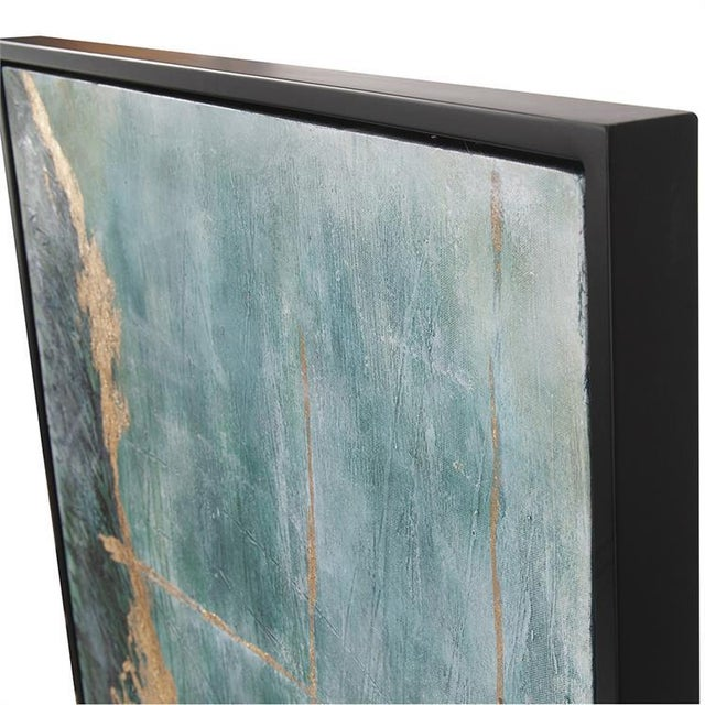 Kenneth Ludwig Chicago Kenneth Ludwig Chicago Ocean Wave Number 2 Painting For Sale - Image 4 of 6