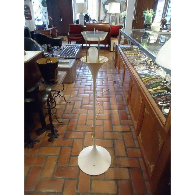Danish Modern Verner Panton Panthella Floor Lamp For Sale - Image 3 of 12