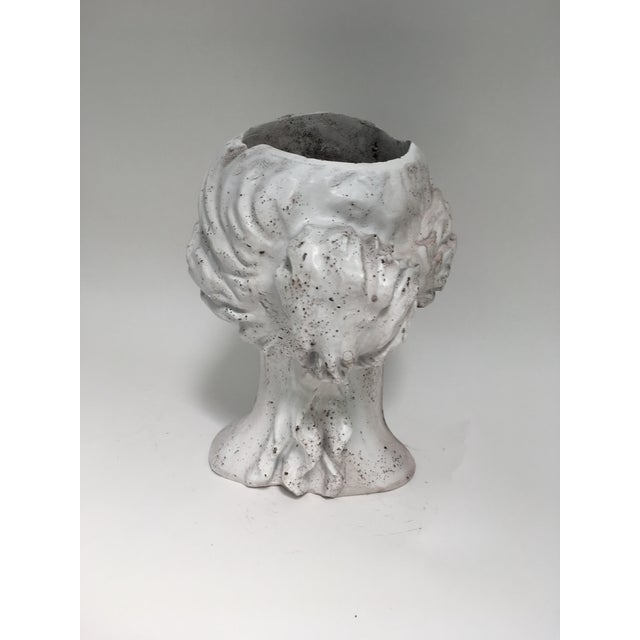 Weathered Venus Bust Head Planter For Sale In Richmond - Image 6 of 8