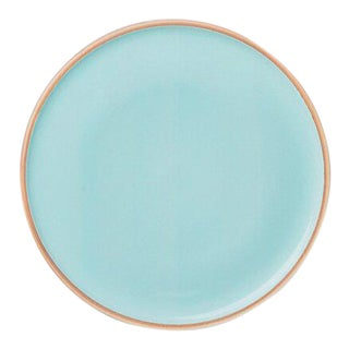 Contemporary 'Hermit' Plate in Celedon by Middle Kingdom - Large